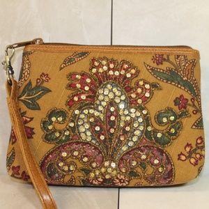 Isabella Fiore Cosmetic Bag Wristlet
